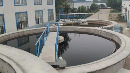 山东印染厂污水处理
