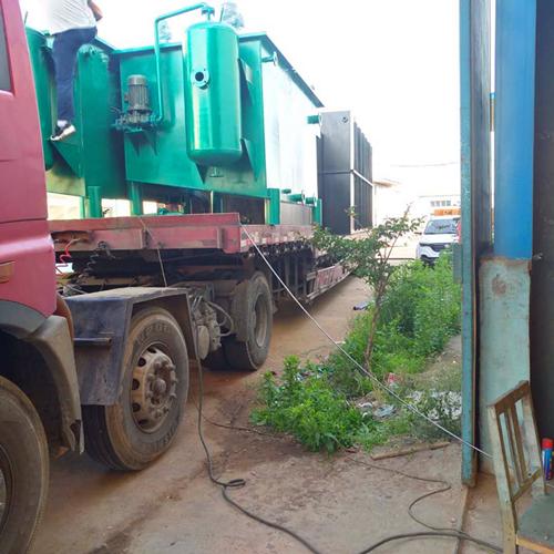福建三明市尤溪县养殖废水发货现场