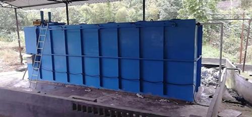 福建省三明市塑料清洗废水现场安装图